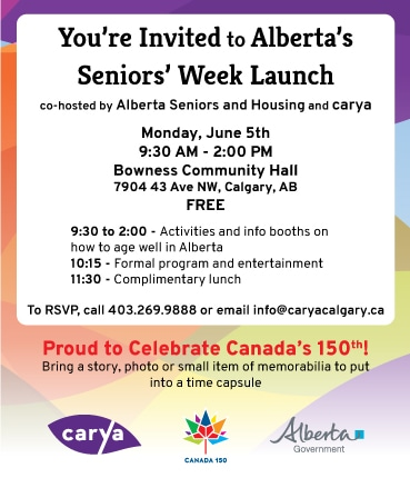 Alberta Seniors' Week Launch