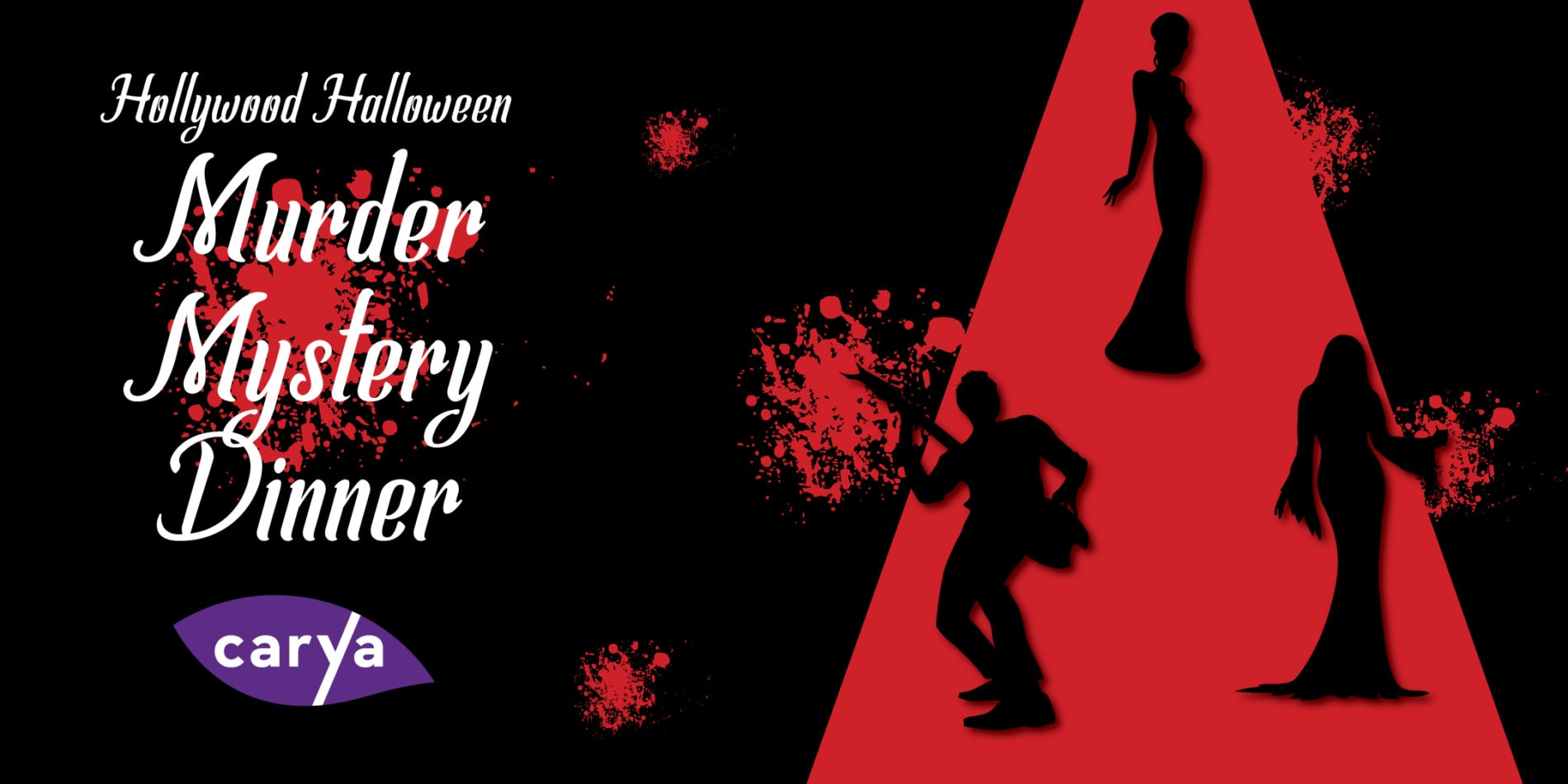 hollywood halloween murder mystery dinner - carya